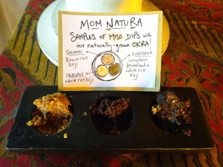 Pure miso samples are on offer for buffet-diners, every week